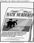 Math murdered